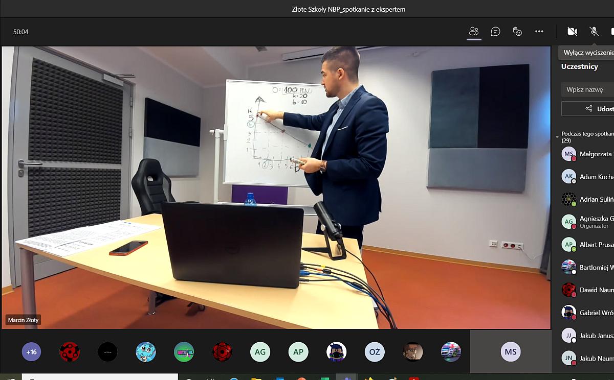 spotkanie z Panem dr Marcinem Złotym